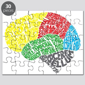 Your Brain (Anatomy) on Words Puzzle